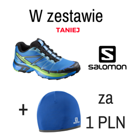 Buty do biegania Salomon WINGS PRO 2 + czapka SALOMON WARM ACTIVE BEANIE za 1 zł