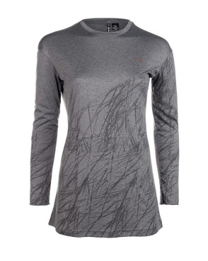 Koszulka do biegania damska Newline Imotion Heather LS Shirt