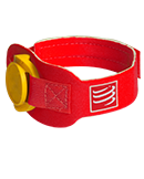 Pasek na chip startowy COMPRESSPORT® Timing Chip Strap Red