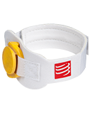 Pasek na chip startowy COMPRESSPORT® Timing Chip Strap White