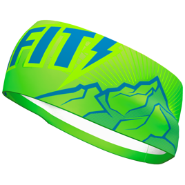 Opaska DYNAFIT Graphic Performance Headband