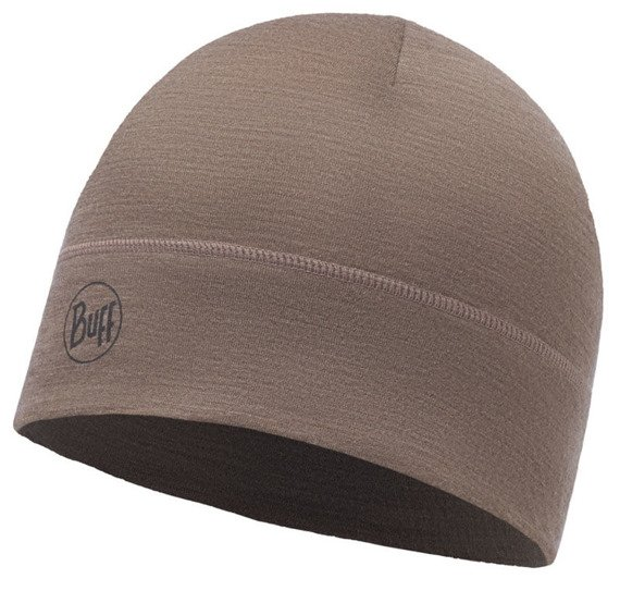 Czapka Buff® Lightweight Merino Wool Hat Walnut Brown