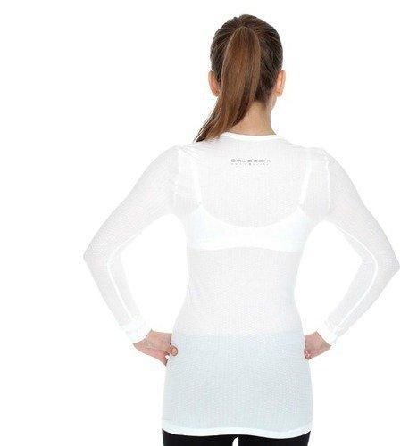 8503595f3dad8f Koszulka termoaktywna unisex typu base layer z długim rękawem Brubeck  LS10850 ...